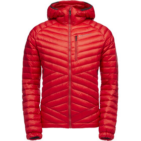 Black Diamond Approach Down Hoody Herre hyper red